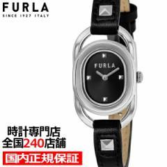 FURLA フルラ STUDS INDEX フルラスタッズインデックス FL-WW00008001L1 レディース 腕時計 クオーツ 電池式 革ベルト ブラック
