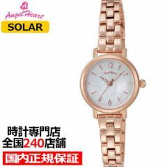 9月17日発売 エンジェルハート ファーストスター FS24PG レディース 腕時計 ソーラー パールダイヤル スワロフスキークリスタル ピンクゴ