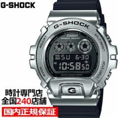 G-SHOCK ジーショック メタルベゼル シルバー GM-6900-1JF メンズ 腕時計 デジタル 反転液晶 国内正規品 カシオ