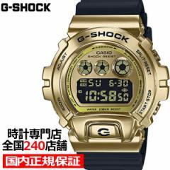 G-SHOCK ジーショック メタルベゼル ゴールド GM-6900G-9JF メンズ 腕時計 デジタル 反転液晶 国内正規品 カシオ
