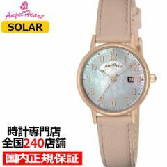 エンジェルハート イノセントタイム ITN29P-PK レディース 腕時計 ソーラー 革ベルト スワロフスキー パールダイヤル ピンク