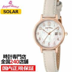 6月1日発売 エンジェルハート イノセントタイム 限定モデル ITN29PG-CL レディース腕時計 ソーラー 革ベルト パールダイヤル ザ・クロッ
