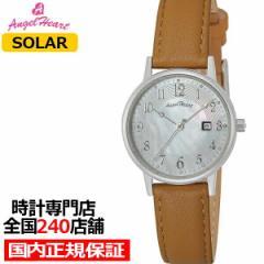 エンジェルハート イノセントタイム ITN29S-BW レディース 腕時計 ソーラー 革ベルト スワロフスキー パールダイヤル ブラウン