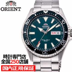 オリエント スポーツ SMALL MAKO スモール マコ RN-AA0808E メンズ 腕時計 機械式 自動巻き ダイバースタイル グリーン