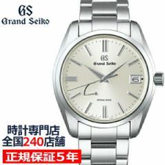 グランドセイコー 9R スプリングドライブ スタンダードモデル SBGA437 メンズ 腕時計 厚銀 9R65