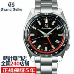 グランドセイコー 9F クオーツ GMT SBGN019 メンズ 腕時計 メタルバンド セラミックスベゼル 強化耐磁 ブラック 9F86