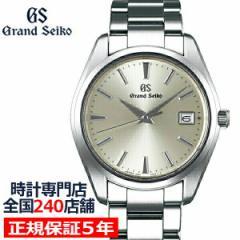 グランドセイコー クオーツ 9F メンズ 腕時計 SBGP009 シャンパンゴールド メタルベルト スクリューバック 時差修正機能 9F85