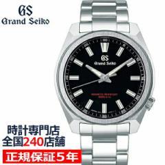 グランドセイコー 9F クオーツ SBGX343 メンズ 腕時計 強化帯磁 ブラック 9F61