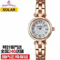 エンジェルハート サニードリーム SD22PG レディース 腕時計 ソーラー ゴールド スワロフスキー