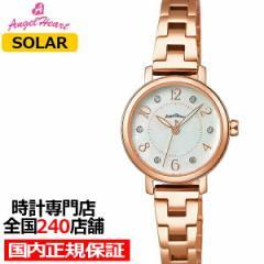 エンジェルハート トゥインクルハート THN24PG レディース 腕時計 ソーラー ステンレス ホワイトパール スワロフスキー
