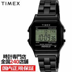 9月17日発売 TIMEX タイメックス クラシックタイルコレクション 限定モデル TW2V20000 メンズ 腕時計 電池式 クオーツ デジタル 樹脂バン