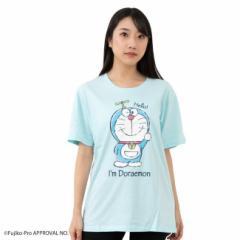 ドラえもん 半袖 Tシャツ Im Doraemon タケコプターを付けた全身のドラえもん A柄 ドラえもん 大人用 送料無料