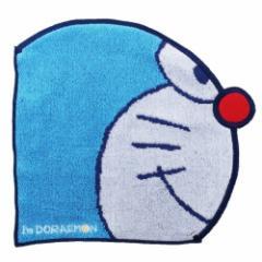 ドラえもんグッズ ジャカード ダイカット ハンカチタオル サイドフェイス Doraemon