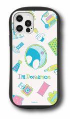 iPhpne12/12Pro対応スマホケース ドラえもん Im Doraemon ハイブリットガラスケース ひみつ道具 送料無料