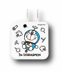 USB2ポートACアダプター ドラえもんグッズ Im Doraemon 総柄 送料無料