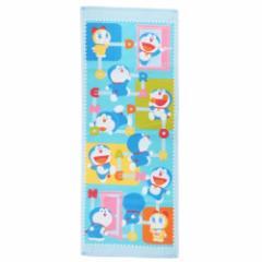 ドラえもんグッズ フェイスタオル シャーリングプリントロングタオル どこでもドア Doraemon