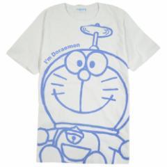ドラえもん 半袖 Tシャツ 大きな顔 タケコプター 2021B柄  Doraemon 送料無料