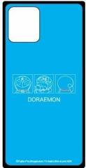 iPhpne12mini対応スマホケース ドラえもん/Im Doraemon スクエアガラスケースドラえもん