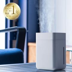 [11/29(日)20時〜4H全品P5倍] 加湿器 卓上 コードレス ツイン噴霧方式 超音波加湿器 ダブル 超音波式 上部給水 充電 静音 USB 小型 コン
