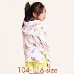 40%OFFセール オイリリー 公式 キッズ 女の子 フーディー パーカーロボットエンジェル 110 120 サイズ