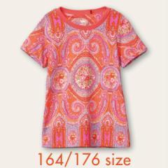 40%OFFセール オイリリー 公式 キッズ 女の子  Tシャツ  オベーションプリント 160 170 サイズ ペイズリー ジュニアサイズ