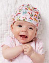 オイリリー ベビー 赤ちゃん 帽子 キャップ ピンク 48cm 新生児 ゆうパケット可 YS18GAC402