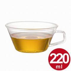 キントー KINTO Cast ティーカップ 220ml ( コップ ガラス製 カップ 耐熱 食器  )
