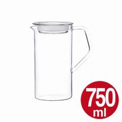 キントー KINTO 冷水筒 CAST ウォータージャグ 750ml ( ピッチャー 冷水ポット 水差し ガラス製 耐熱  )
