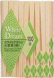 ホワイトアスペン元禄箸(裸 割り箸 )