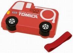キャラクター ダイカットランチボックス お弁当箱 トミカ TOMICA 消防車 子供用