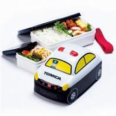 キャラクター 立体トミカ TOMICA弁当箱 ランチボックス パトカー お弁当箱