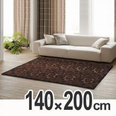 ラグ スミノエ 床暖房対応カーペット ブーケ 140×200cm ( 重厚感 )