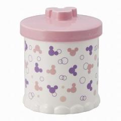 トイレポット 小物入れ ディズニーポット ミッキーマウス 陶器 ( ゴミ箱 )