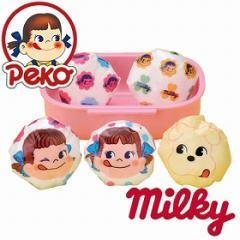 おにぎりラップ ペコちゃん ミルキーペコ ( キャラ弁 おむすびラップ お弁当グッズ キャラクター デコ弁 子供用 ミルキー milky