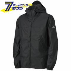 アクアブロックレインジャケット ブラック LBB B2JE0A0109 ミズノ [ユニセックス レインウェア アウトドア キャンプ 釣り 登山 合羽 雨具