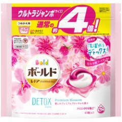 ボールド ジェルボール3D 癒しのプレミアムブロッサムの香り 詰替用 ウルトラジャンボ(63個入)  P&G [洗濯用品 洗濯洗剤 コンパクト洗