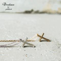 ネックレス メンズ クロス 十字架 十字 チェーン 小さめ ペア カップル お揃い プレゼント シンプル カジュアル シルバー ゴールド ジュ