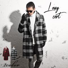 コート メンズ ロングコート ロング ロング丈 ショールカラー チェスターコート ビックコート trend_d