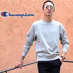 champion チャンピオン トレーナー メンズ スウェット レディース 刺繍 クルーネック 長袖 男女兼用 trend_d