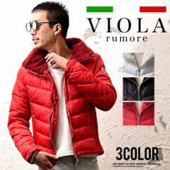 VIOLA rumore ヴィオラ ジャケット メンズ 中綿ジャケット アウター ジャケット ジャージ アウター ボア trend_d