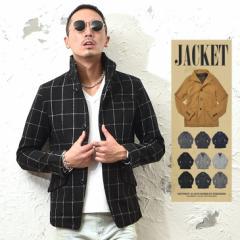 ジャケット メンズ テーラードジャケット スーツ イタリアンカラー ジャケット アウター trend_d