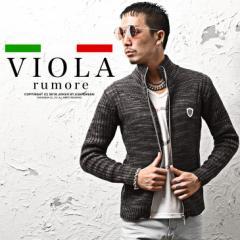 VIOLA rumore ヴィオラ ジャケット メンズ ニット スウェット スウェットジャケット パーカー ジャージ ストレッチ trend_d