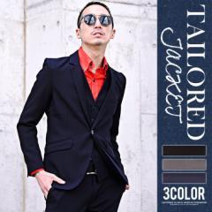 ジャケット テーラードジャケット スーツ スリーピース XL メンズ ブラック グレー メンズファッション お兄系 冬 冬服 trend_d