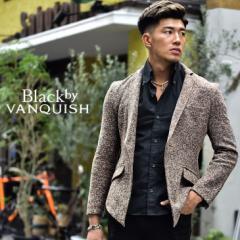 BLACK by VANQUISH ブラックバイバンキッシュ バンキッシュ テーラード ブランド テーラードジャケット メンズ 秋 大きいサイズ LL XL メ