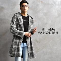 コート メンズ ブランド カジュアル 40代 ビジネスコート チェック フード ロングコート チェック柄 ひざ上 ひざ下 大きいサイズ 秋 秋服