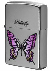 Zippo ジッポー ライター Processing in USA Butterfly Z205-411672 メール便可
