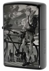 Zippo ジッポー ライター RADIO EVA EVANGELION エヴァンゲリオン アスカ The bicycle