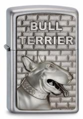 ヨーロッパ直輸入Zippo ジッポー Bull Terrier Emblem 2003544
