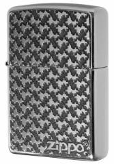 Zippo ジッポー ライター 200 Flat Bottom Metal Paint Plate 2MPP-Pattern GY メール便可