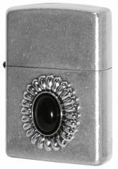 Zippo ジッポー ライター Power Stone パワーストーン オニキス 70638 メール便可